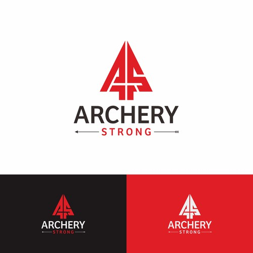 Logo concept for Archery Strong