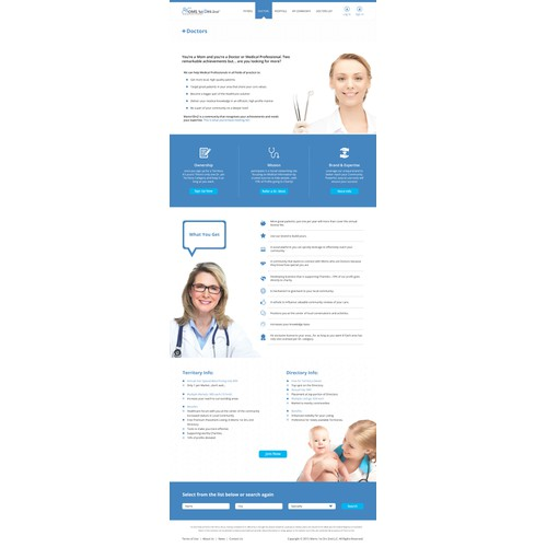 Create a fantastic Landing Page for New Website