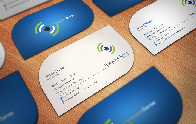 TranscendSense -- Multisensory company needs business card design!