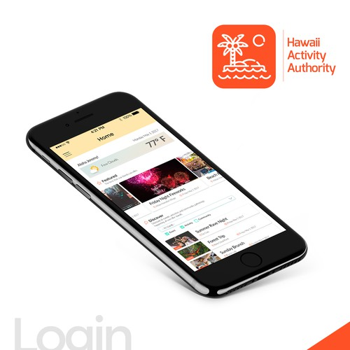 App Design for Hawai Activity Authority