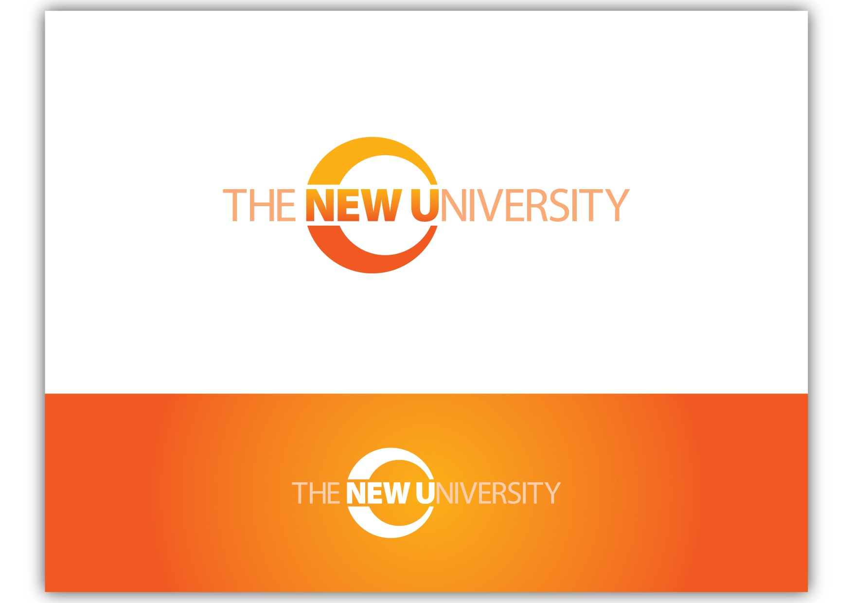 Create the next logo for The New University (New U)