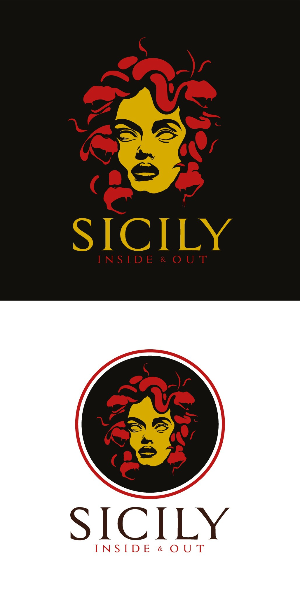 Contemporary Sicilian design for travel blog