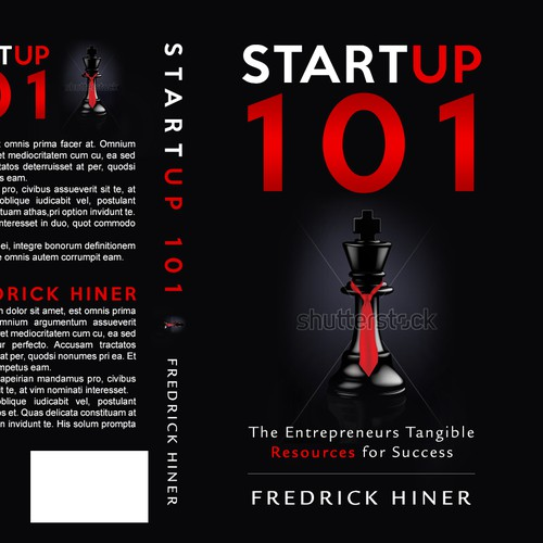 Book cover for StartUp company.