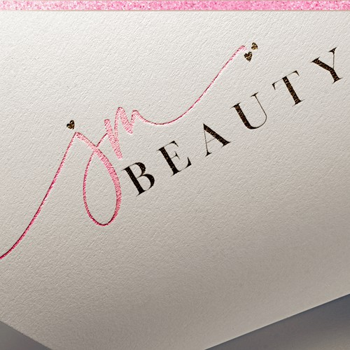 Jm BEAUTY Logo Design