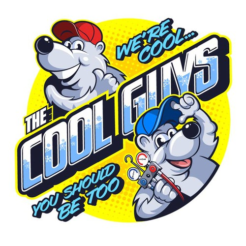 The Cool Guys logo.