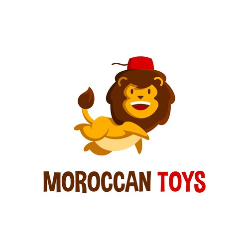 lion logo for toys company