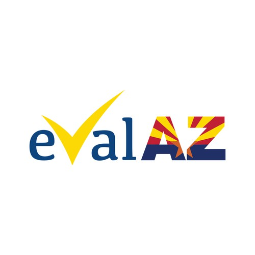 Winning logo design for evalaz