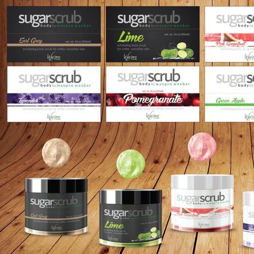 Label Design for Cosmetic Company
