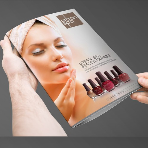 Urban Spa Brochure Design