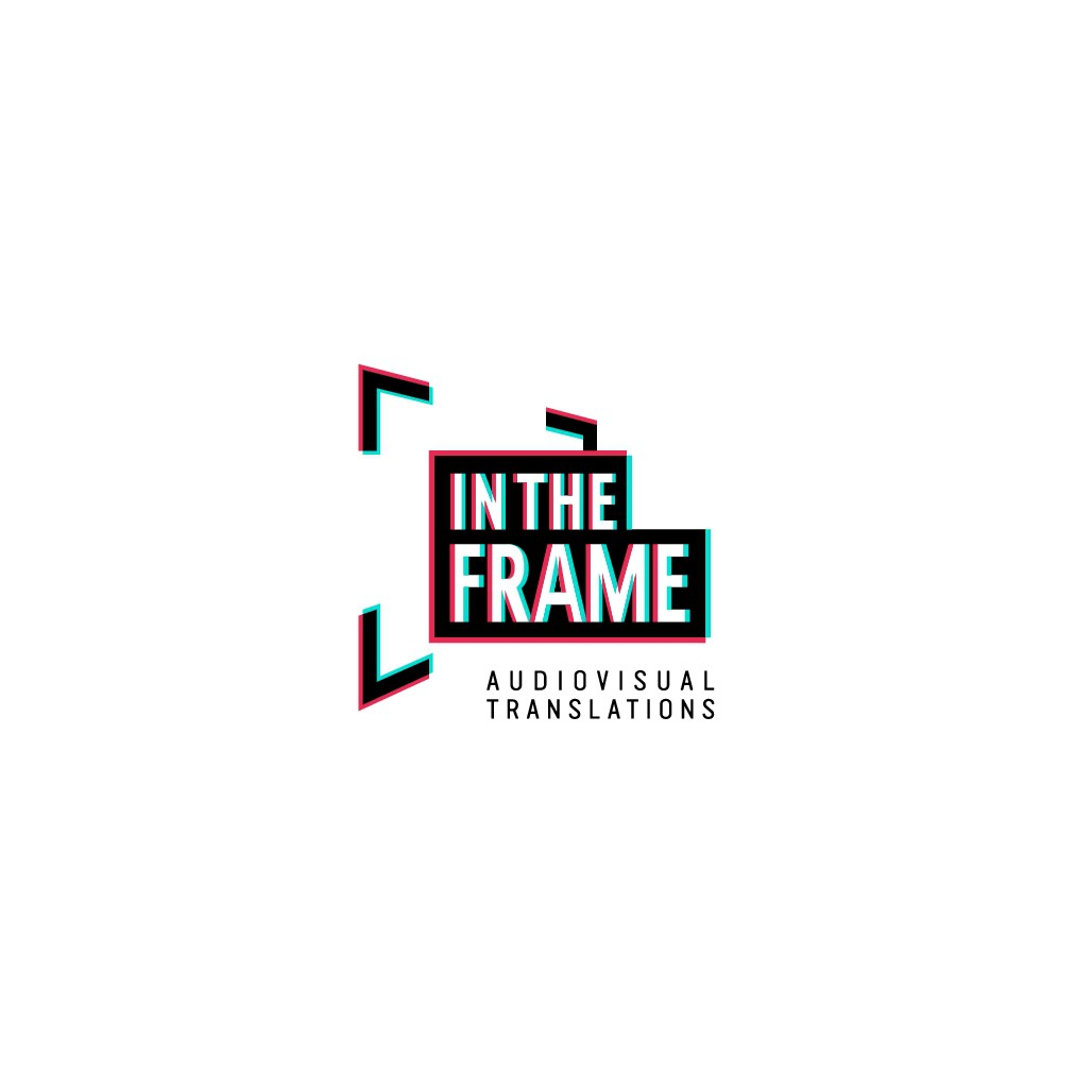 New Logo design (minimalist, black and white) Audiovisual industry