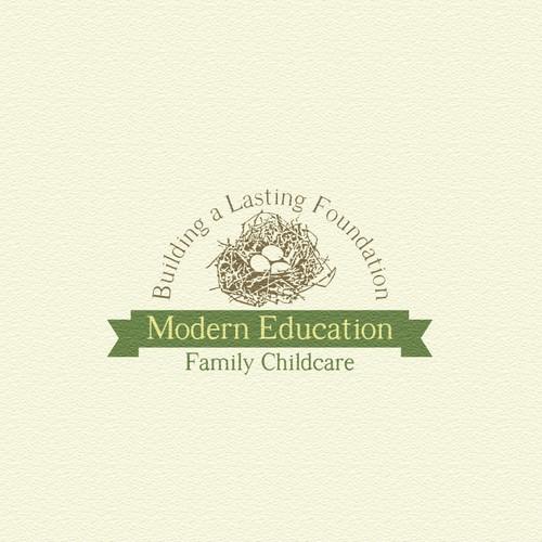 Design a brand logo for Modern Education Family Childcare