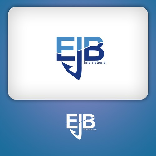 Create the next logo for EJB International Seafood Company