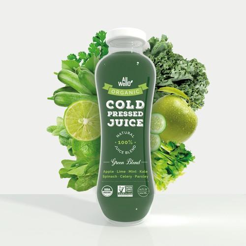 Juice label