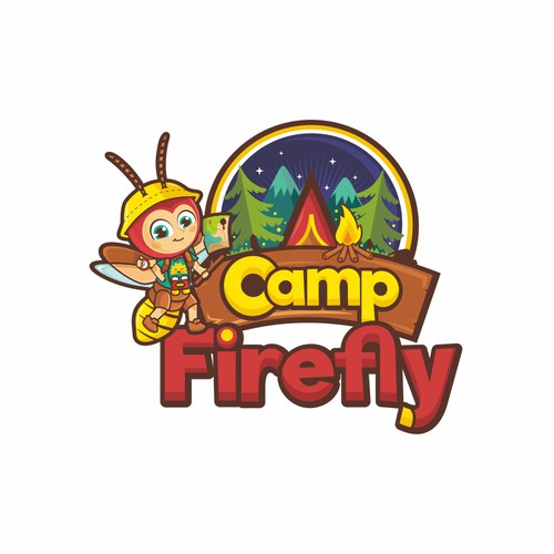 children summer camp logo