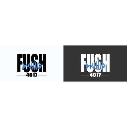 logo concept for fish market