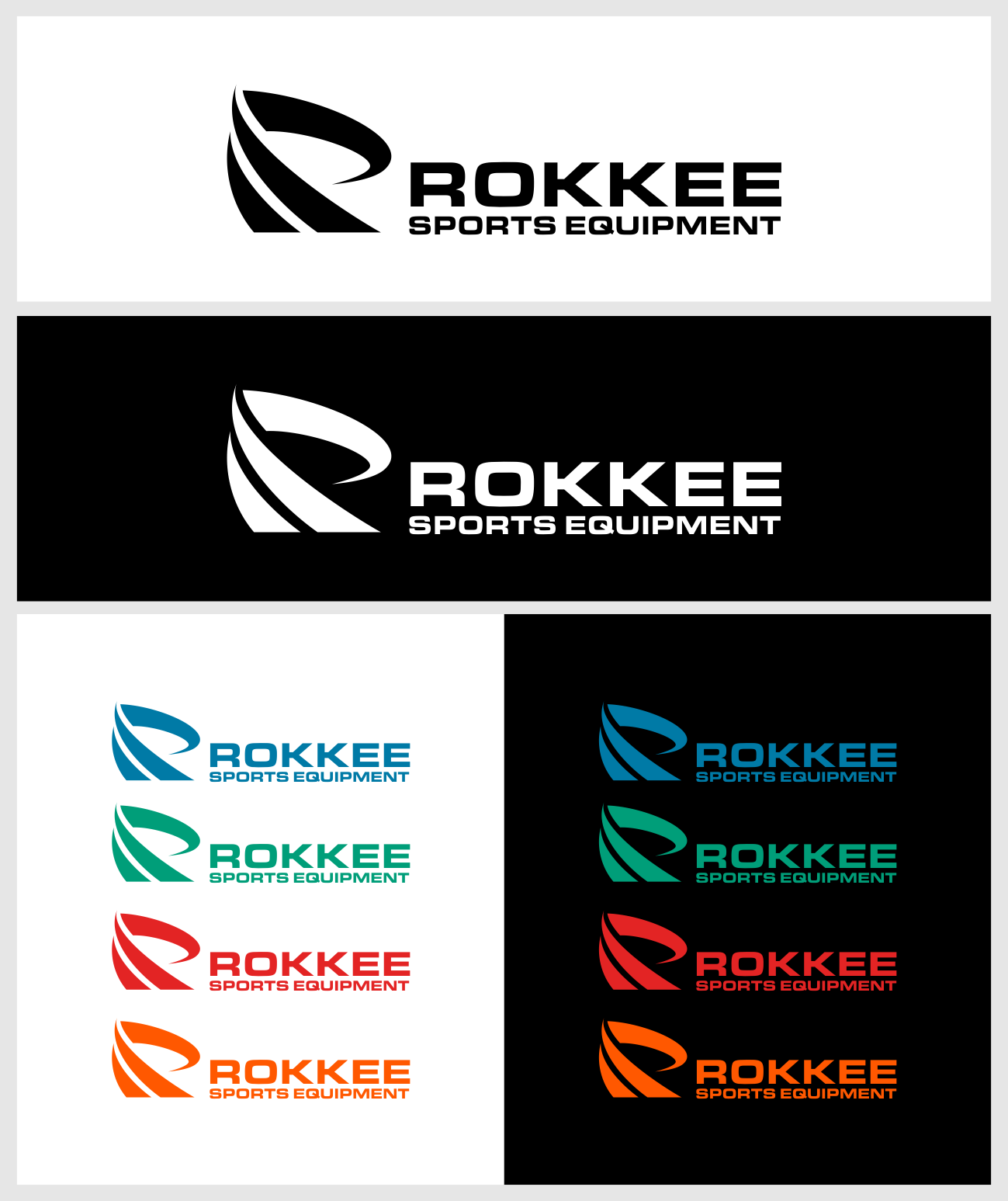 Create a most appealing knee brace logo ever for Rokkee Sports Equipment