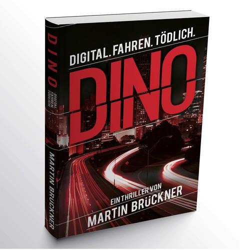 """""""Dino"""" book cover finalist"""