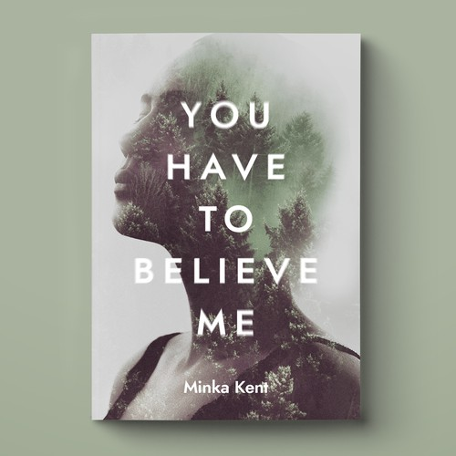 Double exposure book cover