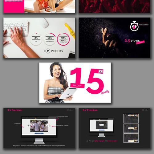 Visual Presentation of A Website Statistics
