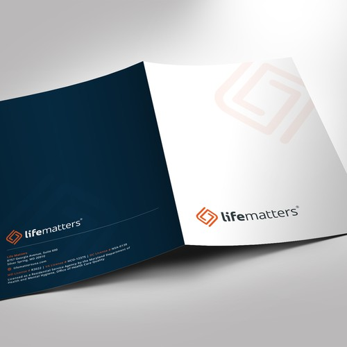 Modern Professional Presentation Folder