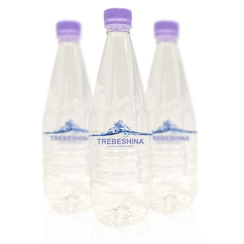 CREATE A PREMIUM LABEL DESIGN FOR TREBESHINA WATER BOTTLES