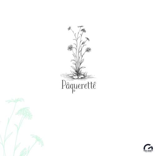 Logo design for floral shop
