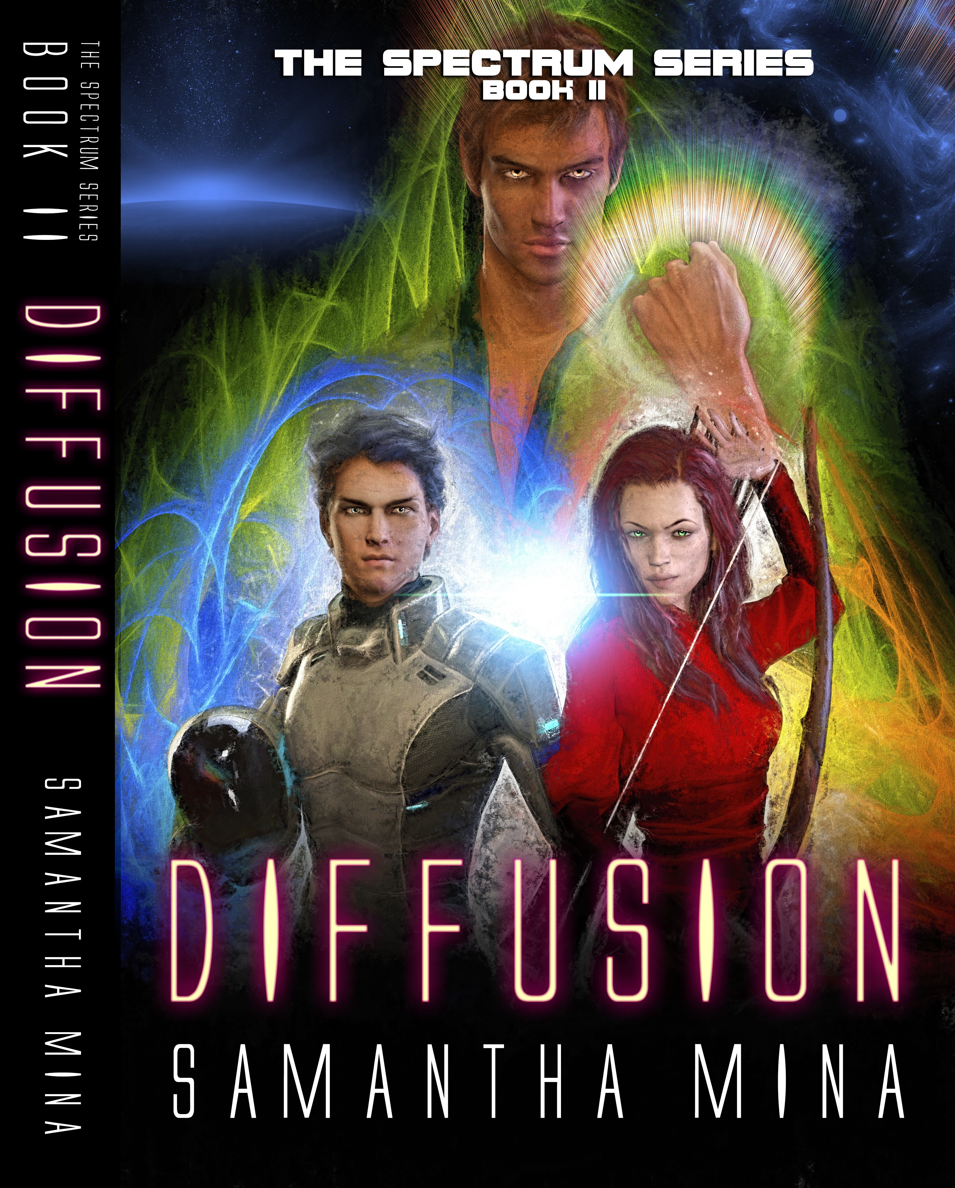 Cover Art for Young Adult Sci-Fi/Fantasy Novel