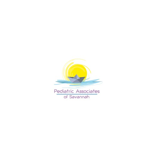 Logo concept for pediatric association