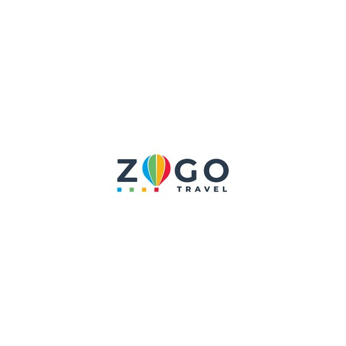 "Logo for ""Zogo Travel"" digital travel agency"