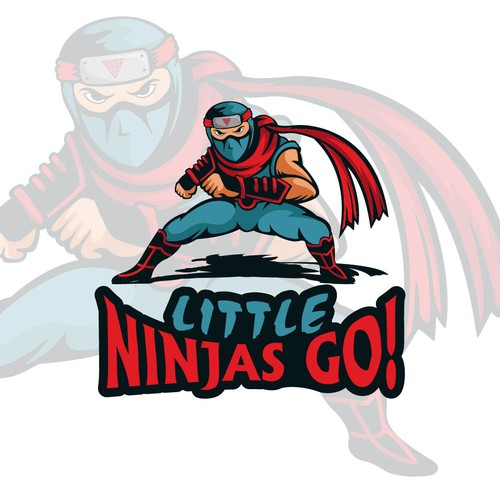 Playful logo for Ninja GYM