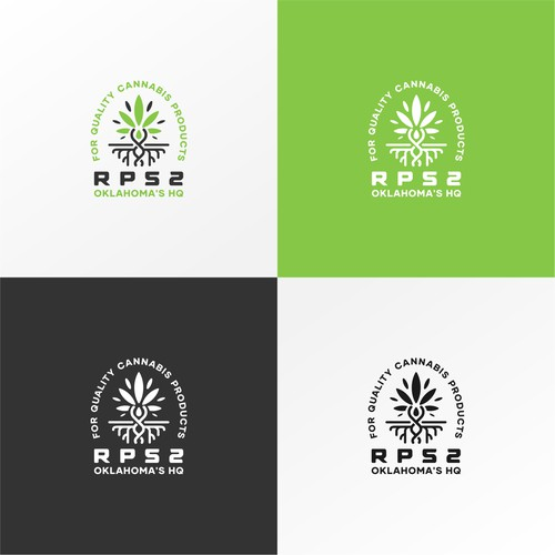 Logo for Oklahoma's HQ for quality cannabis products