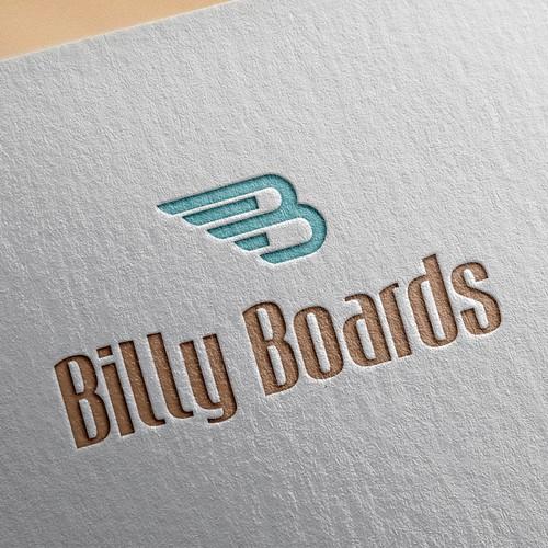 A fun new startup company logo