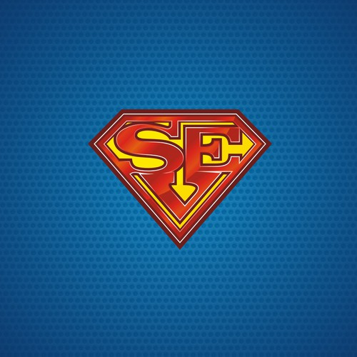 """Superman Shield"" like logo"