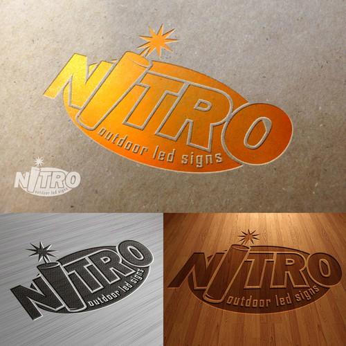 Nitro outdoor led signs