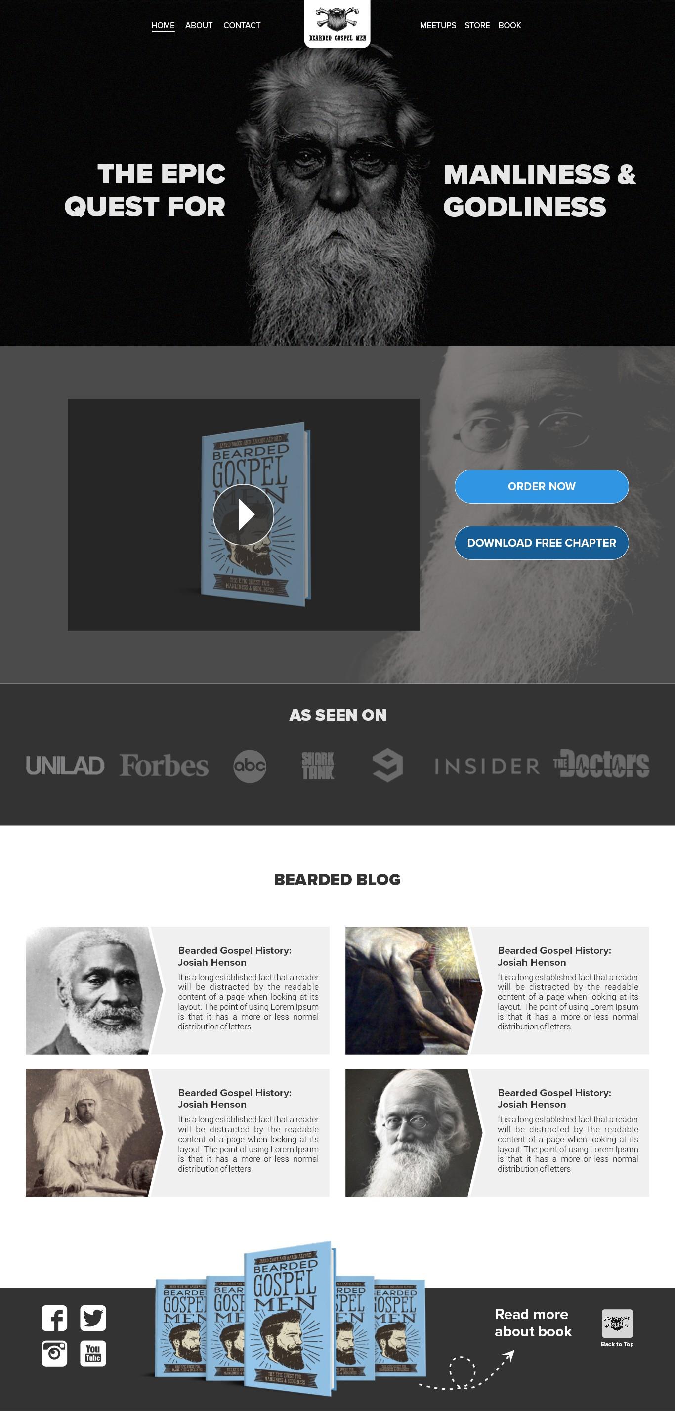 BeardedGospelMen.com Needs a Facelift (But Definitely Not a Shave.)