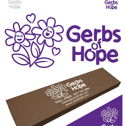 Herbs of Hope logo design