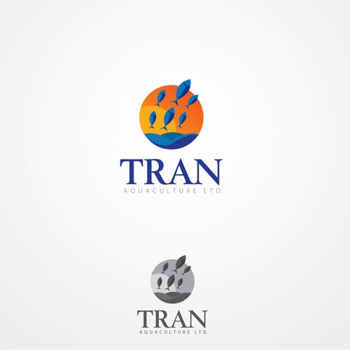 Help Tran Aquaculture Ltd. with a new logo and business card