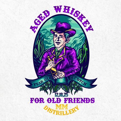 aged whiskey