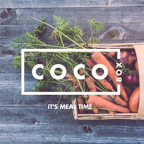 "COCO Box ""Meal Kit"" Box Design"