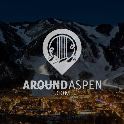 AroundAspen Logo Design