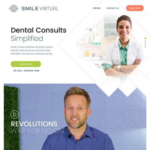Web page design contest entry