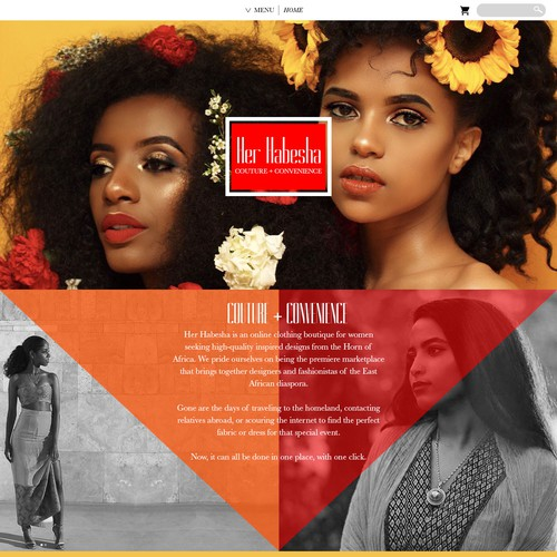 Design Proposal for 'Her Habesha'