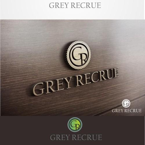 Create a Vintage-Modern-Sexy Logo for Grey Recrue
