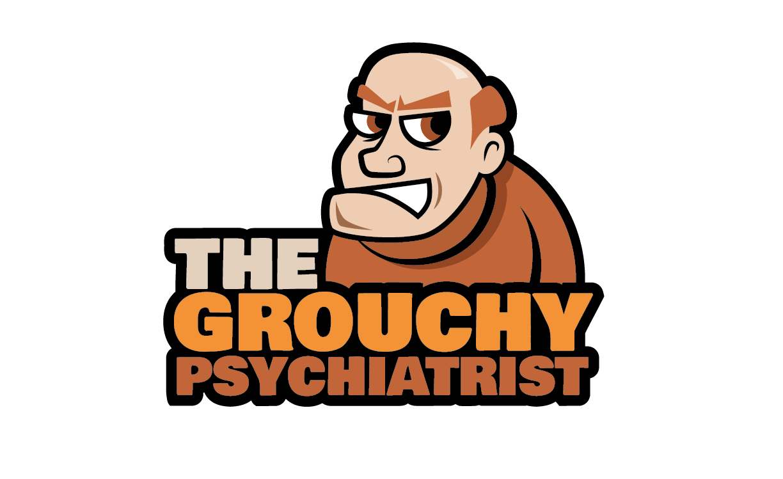 Create a fun cartoony logo for a mental health ppodcast