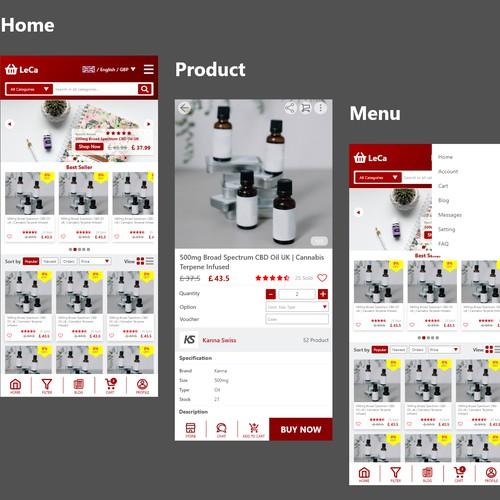 Leca Shopping Mobile Apps