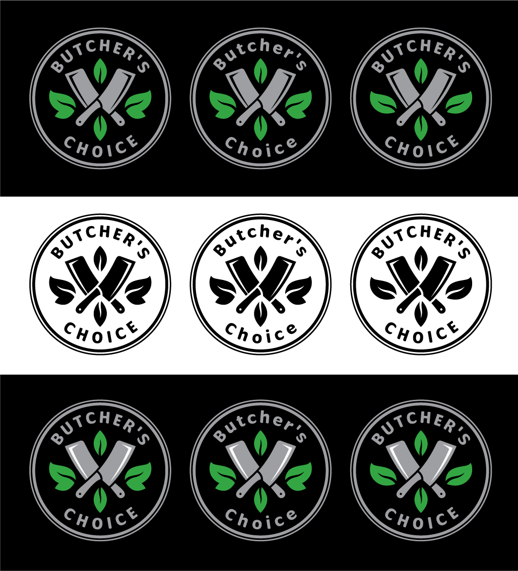 Butcher's Choice- Awesome Logo For a Sustainably Sourced Food Company