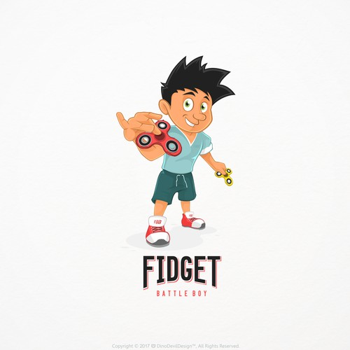 Fidget battle boy
