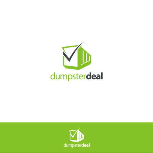 Logo concept for Dumpster deal