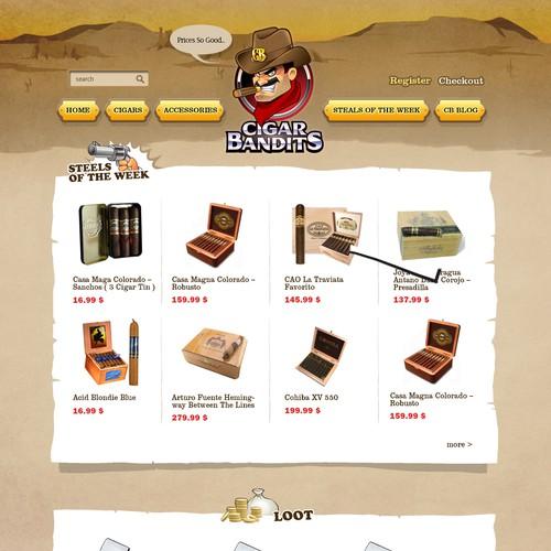 Design the new CigarBandits.com website!