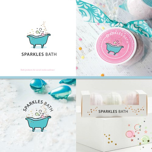 Logo for Sparkles Bath
